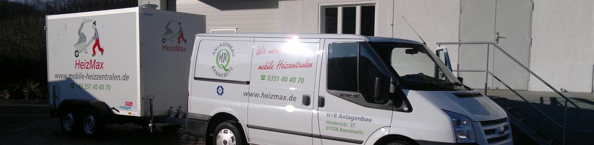 Thermische Desinfektion mit mobilen Heizanhängern vom HeizMax®